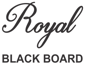 Royal Black Board
